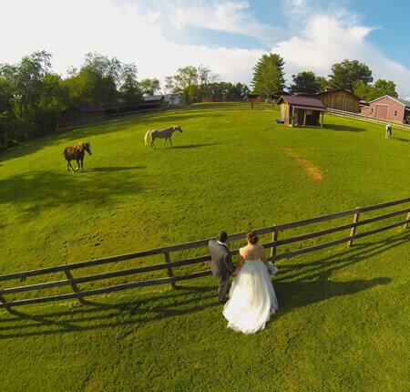 Drone Wedding Photography Masterton
